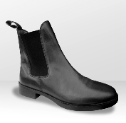 Brogini JB Short Riding Boot in black