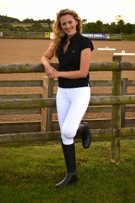 Equine-by-Design Ladies Breech White